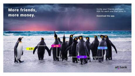Alt.bank: Member get member, 6 Digital Advert by GhFly, Curitiba, Brazil