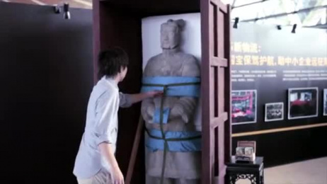 UPS Courier Service: GO WEST – JOURNEY OF TERRACOTTA WARRIOR TO THE U.S. Outdoor Advert by Ogilvy & Mather Beijing