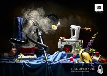 JBL: Still Life, 3 Print Ad by Philipp Und Keuntje