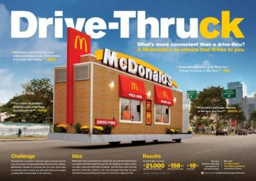 McDonald's: McDonald's Ambient Advert by DPZ Sao Paulo