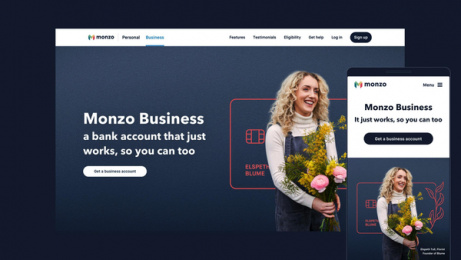Monzo: It's business time for the UK's best-loved bank, 4 Design & Branding by Studio Output, London