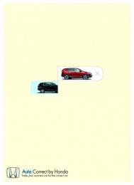Honda: CRV Print Ad by McCann Tel Aviv