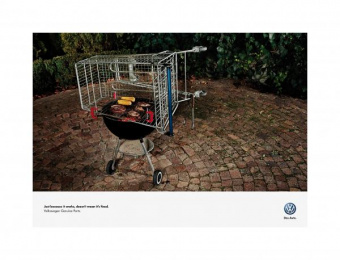 Volkswagen: BARBEQUE Print Ad by Ogilvy Cape Town