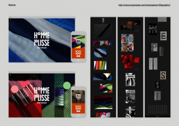 Issey Miyake: 100 Graphics By Homme Plisse Issey Miyake, 9 Design & Branding by Boat Tokyo, Grandpa Tokyo, Q Tokyo