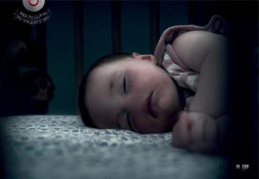 Nz Fire Service: Baby Print Ad by FCB Auckland