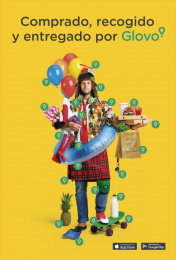 Glovo: Boy Print Ad by Pavlov