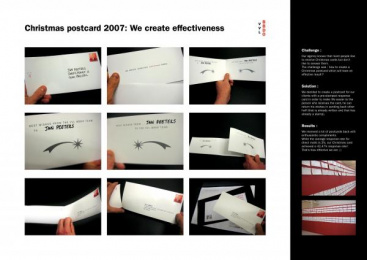 Christmas Greeting: WISHES CARD Print Ad by VVL BBDO Brussels