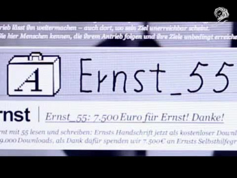 VOLKSBANKEN RAIFFEISENBANKEN: FONTS AGAINST ILLITERACY [video] Case study by Heimat Berlin, Trigger Happy Productions