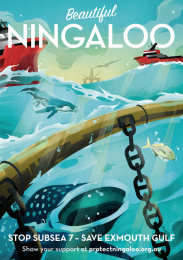 Protect Ningaloo: Beautiful Ningaloo - Whale Print Ad by Wunderman Thompson Perth