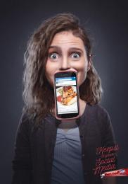 Colgate Maxfresh: Girl Print Ad by Y&R Lima