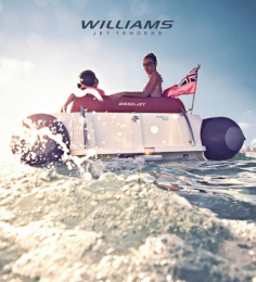 Williams Jet Tenders: The Williams website, 2 Digital Advert by Thinking Juice