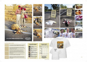 Tourist Wildlife Trips: ROADKILL Direct marketing by Clemenger Proximity