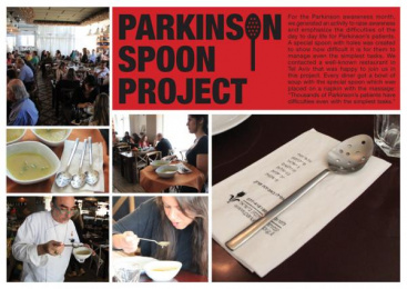 The Israel Parkinson Association: Parkinson spoon project Ambient Advert by DraftFCB Tel Aviv