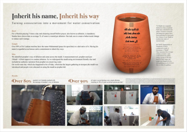 National Muslim Collective: Inherit His Name, Inherit His Way Print Ad by Triad
