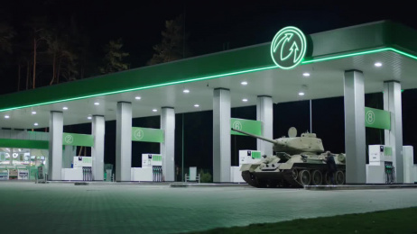 World of Tanks: The Gas Station Film by Romance Paris, Wanda Productions