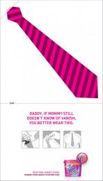 Vanish Multi: Bib tie Print Ad by Euro Rscg Sao Paulo