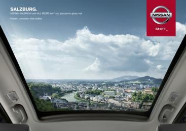 Nissan Qashqai: SALZBURG Outdoor Advert by TBWA\ Dusseldorf