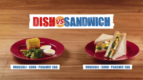 Bimbo: Dish vs sandwich Film by Ogilvy & Mather Buenos Aires