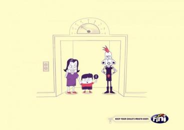 Fini: Children, 2 Print Ad by Miami Ad School Rio de Janeiro