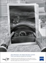 Zeiss: ZEISS DriveSafe Print Ad by gyro Paris