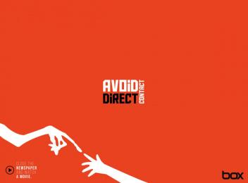 Box Comunicação: Avoid direct contact Print Ad by Box Goiania Brazil