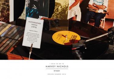 Harvey Nichols: Vinyls Print Ad by Lowe Mena Dubai