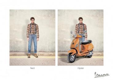 Vespa: Boy Print Ad by Acw Grey Tel-Aviv