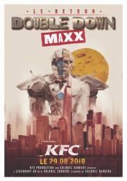 Kentucky Fried Chicken (KFC): Double Down Maxx Print Ad by Sid Lee Paris