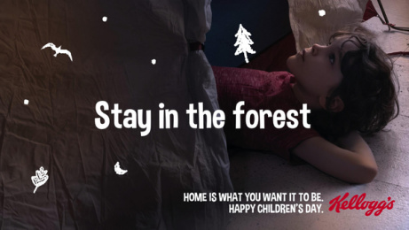 Kellogg's: Stay in forest Digital Advert by Pico Adworks