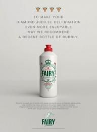 Fairy: Diamond Jubilee Print Ad by Grey London
