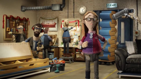 DFS: Christmas Film by Aardman Animations, Krow Communications