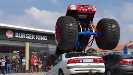 Burger King: Monster Truck Film by Ikraal, The Jupiter Drawing Room South Africa