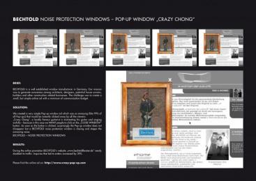 Bechtold: POP-UP WINDOW CRAZY CHONG Print Ad by Publicis Frankfurt