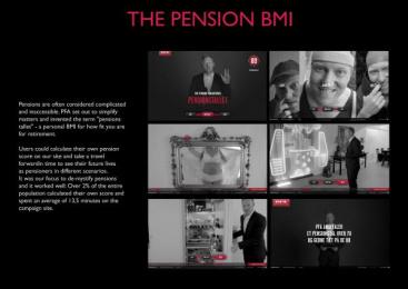 PFA Pension: THE PENSION BMI Digital Advert by Bacon, Umwelt