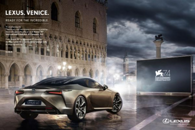 Lexus: Ready for the Incredible Print Ad by The&Partnership Rome