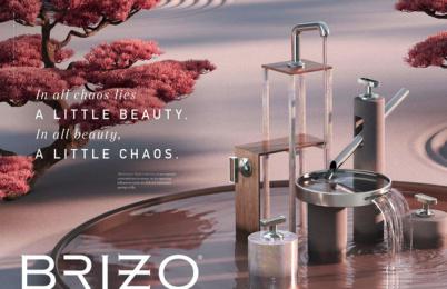 Brizo: Counter/Balance, 4 Print Ad by Young & Laramore