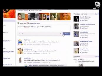 MTS Mblaze: GODS ON FACEBOOK Promo / PR Ad by VML Qais Mumbai