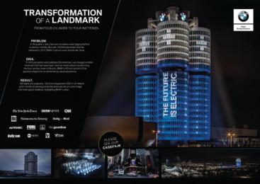BMW: BMW Ambient Advert by Jung Von Matt Germany, Jung Von Matt/Alster Hamburg