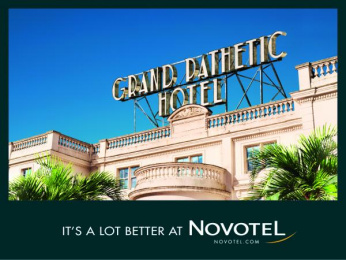 Novotel: Grand Pathetic Hotel Print Ad by TBWA Paris