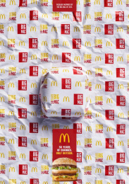 McDonald's: Packed in History - 2013 Print Ad by Team collaboration