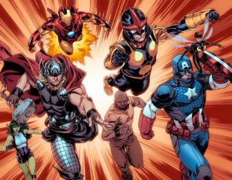 Marvel Custom Solutions: Heroes Welcome Digital Advert by BBDO New York