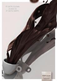 Ceramica Portinari: Coffee stain Print Ad by Brainbox Branding 360 Curitiba