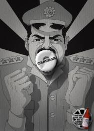 Capunga: Military Print Ad by Martpet Comunicacao