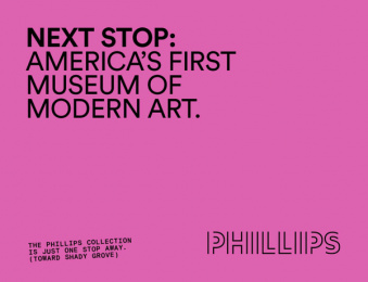The Phillips Collection: America's First Modern Art Museum, 6 Outdoor Advert by January Third