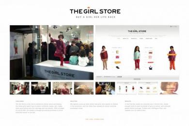 Nanhi Kali Organization: THE GIRL STORE Promo / PR Ad by StrawberryFrog