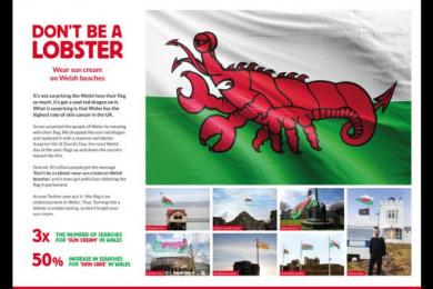 Skin Care Cymru: Skin Care Cymru Ambient Advert by WCRS