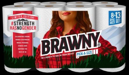 Brawny: #StrengthHasNoGender Design & Branding by Cutwater San Francisco