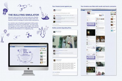 Anti-bullying: THE BULLYING SIMULATOR Direct marketing by Lowe Brindfors Stockholm