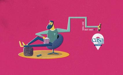 Casa Galegao: Beer Print Ad by Seven Comunicação Total
