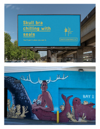 Vancouver Mural Festival: You'll get it when you see it, 9 Print Ad by One Twenty Three West